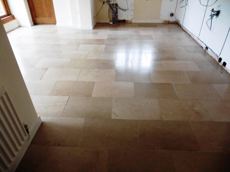 resolving uneven limestone kitchen floor tiles  stone