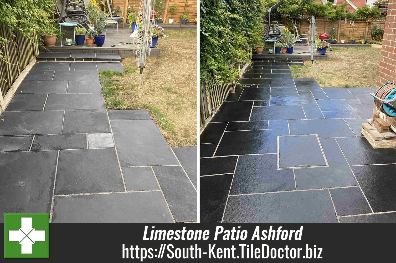 Black-Limestone-Patio-Renovation-Ashford